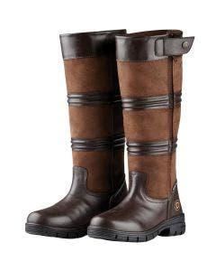 Dublin Ladies Husk Zip Country Boots