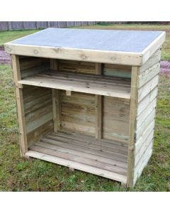 Hutton Log Store - 4ft x 2ft x 4ft