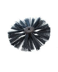 """3 Row Plastic Blockhead Brush - Lockfast Type 6"""""""