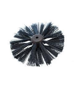 """3 Row Plastic Blockhead Brush - Lockfast Type 9"""""""
