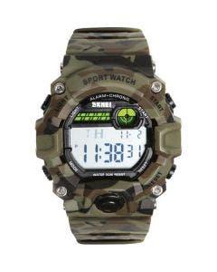 Ligne Verney-Carron Shock Resistant Digital Watch - Camo