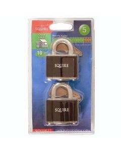 Squire 35T Steel Padlock Twin Pack