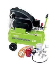 Draper 2HP Air Compressor Kit - 24L