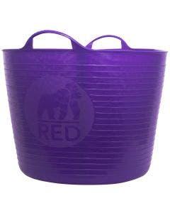 Red Gorilla Large Purple Tubtrug – 38L