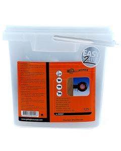 Gallagher XDI Screw-in Insulator Pack 125 Pack