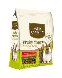 Country Value Fruity Nuggets For Rabbits - 1.5kg