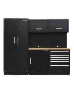 Sealey Modular Storage System Combo 1 - Oak Worktop
