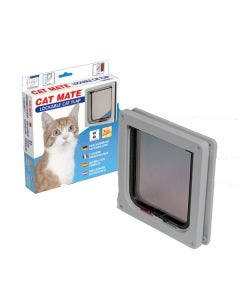 Petmate Lockable Cat Flap - White