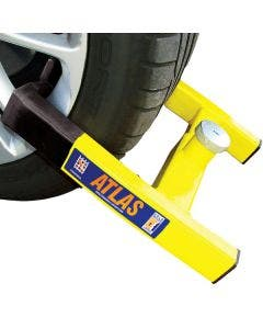 Maypole Stronghold Atlas Automotive Wheel Clamp - Yellow