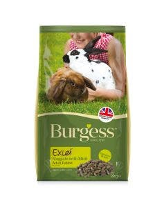 Burgess Excel Tasty Nuggets for Adult Rabbits - 2kg