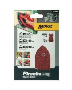 Black & Decker X31024 Mouse Sanding Sheets - Assorted