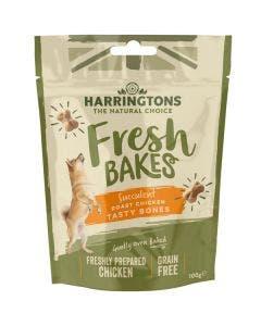 Harringtons Fresh Bakes Roast Chicken Tasty Bones - 100g