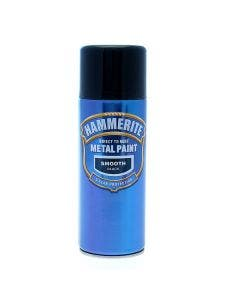 Hammerite Smooth Direct to Rust Metal Paint Aerosol - 400ml