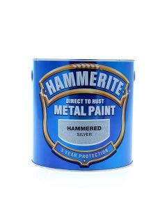 Hammerite Hammered Direct to Rust Metal Paint - 2.5L
