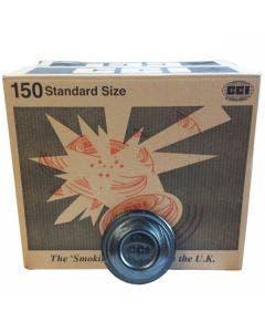Standard Black Clay - Box of 150