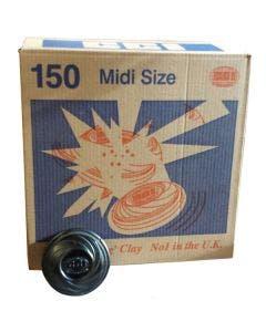 Midi Black Clay - Box of 150