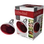 Intelec Ruby Red Hard Glass Infra-Red Bulb - 150 Watt